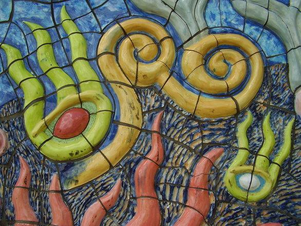 Mosaic sculpture 1