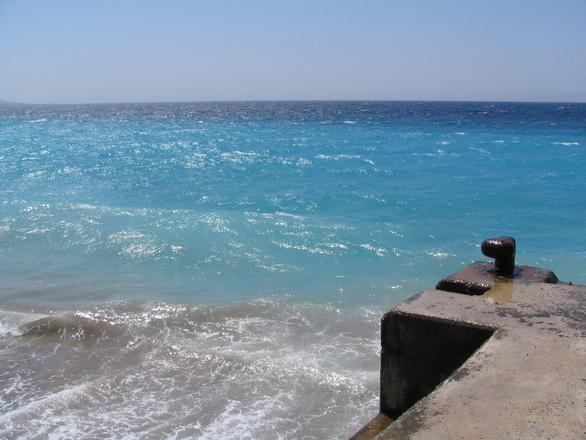 Beautiful sea color