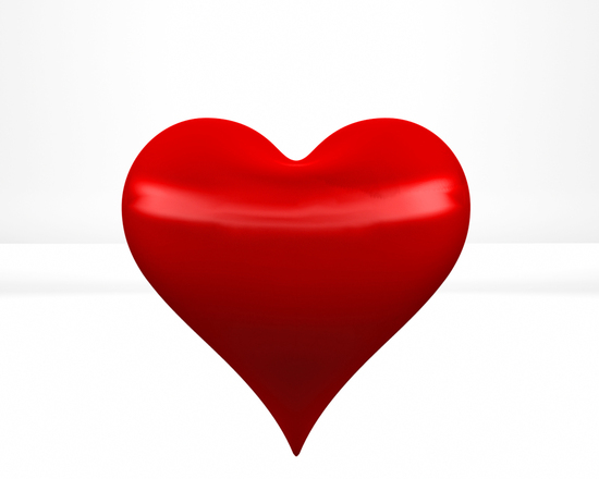 Free Red Hearts In 3d Stock Photo Freeimages Com