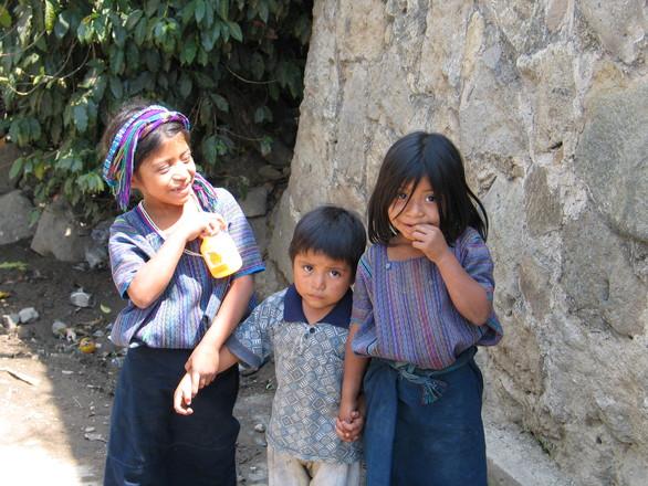 mayan village - people 02