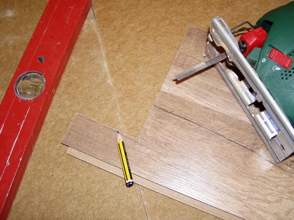 Panel floor work