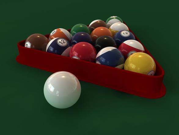 Как сделаны шары для бильярда 306