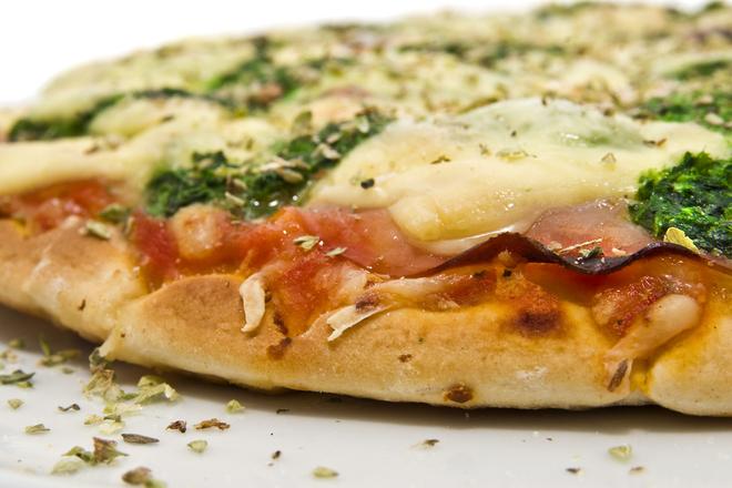 Pizza spinaci series