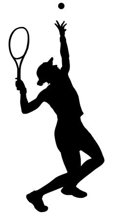 Tennis Silhouette 2