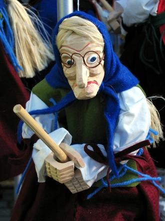 witch figurine