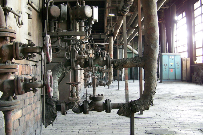 Free old boiler room stock photo freeimages
