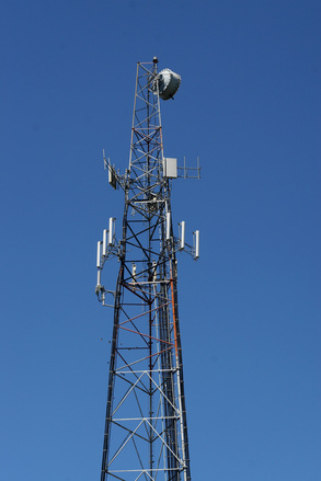 free cell phone tower stock photo freeimagescom