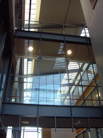 passageway of glass