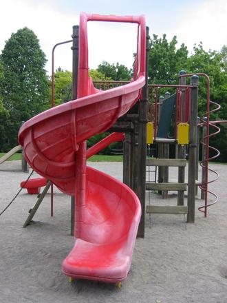 Spiral Red Slide