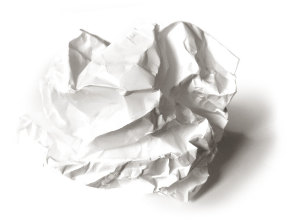 Free Wrinkled Crumpled Paper Stock Photo Freeimages Com