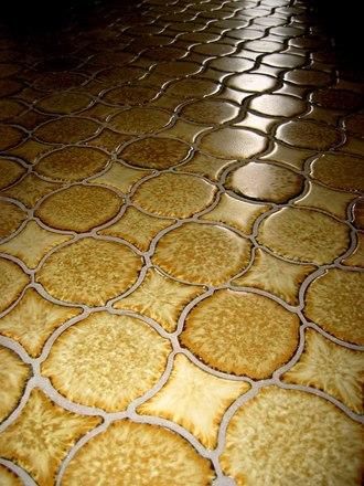 ugly 70's floor tiles