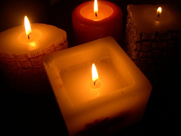 Candles in Soft Light