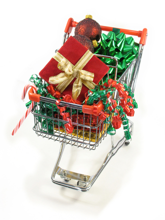 Shopping for christmas goodies