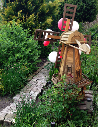 Garden windmill 1