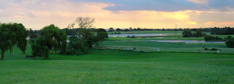 Golf Course Panorama, photograph, #1476083 - FreeImages.com