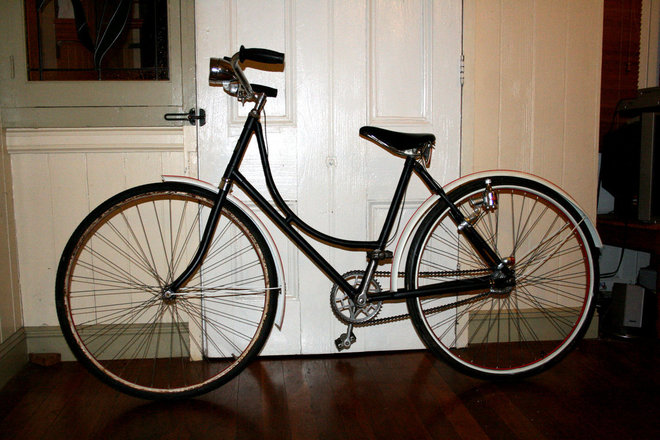 Old 1950s bike