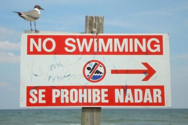 Se Prohibe Nadar