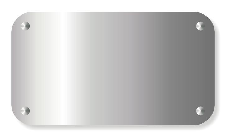 Free Metal Banner Stock Photo