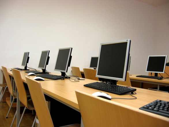 Free computer room stock photo freeimages