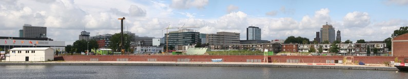 Panorama Utrecht centre