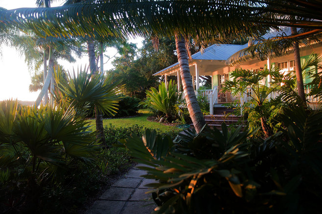 Southern Florida Waterside Cottage