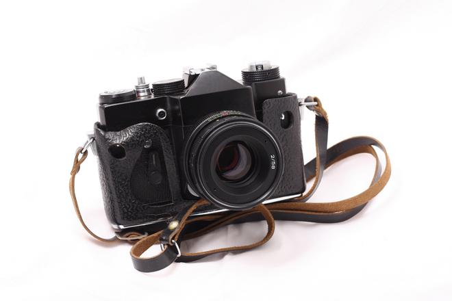 Old russian SLR camera 1