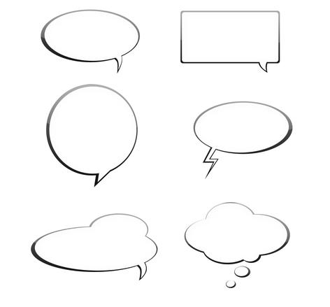 Talk bubbles