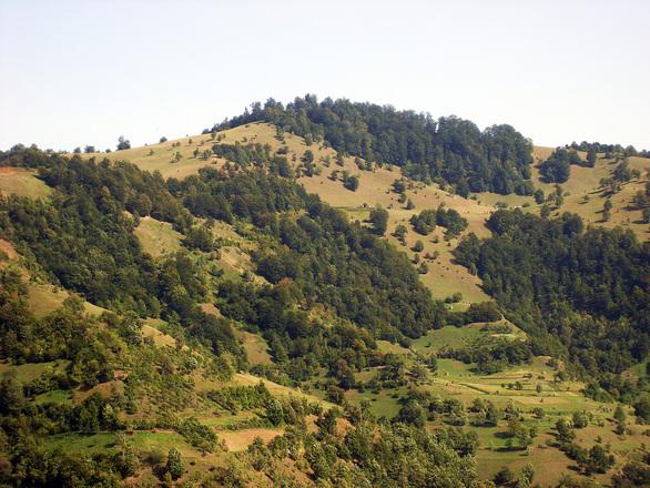 landscape- a remote village