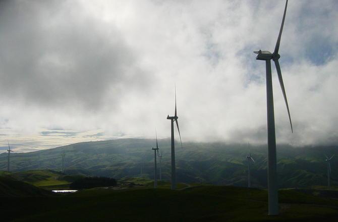 Stormy Windmills