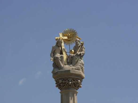 Holy Trinity sculpture