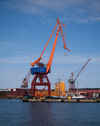 Crane Gothenburg