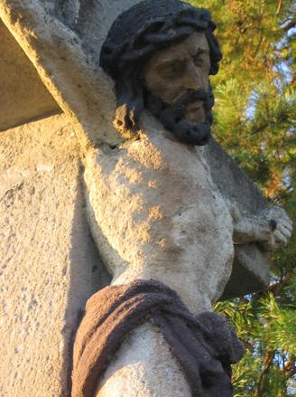 イエスの十字架上