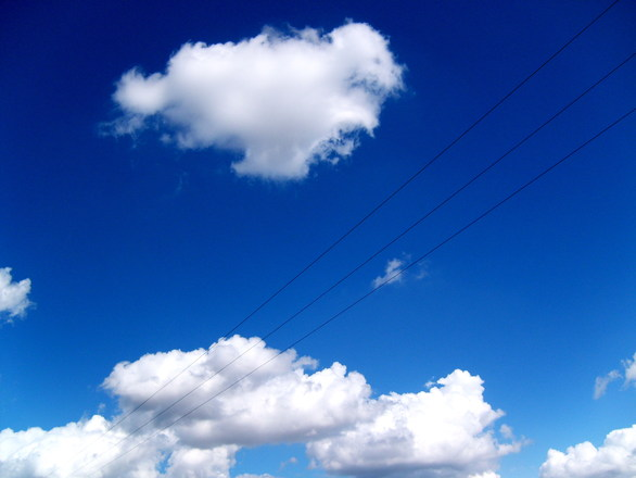 Clouds at Poland