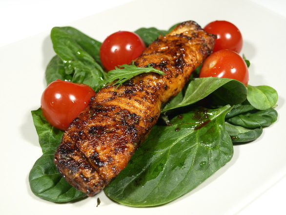 Grilled trout 1