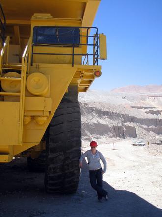 Chuquicamata truck