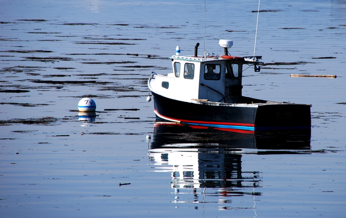 Free lobster boat 3 stock photo for Lobster fishing in maine