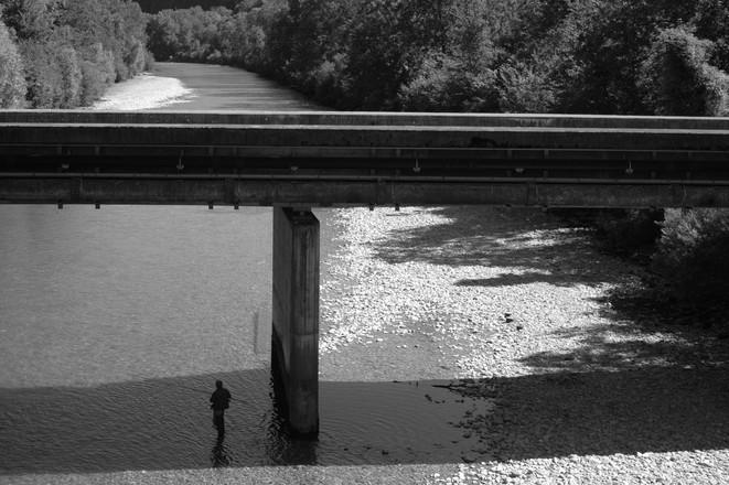 Fisher and the bridge