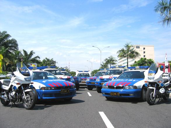 Indonesia Traffic Police