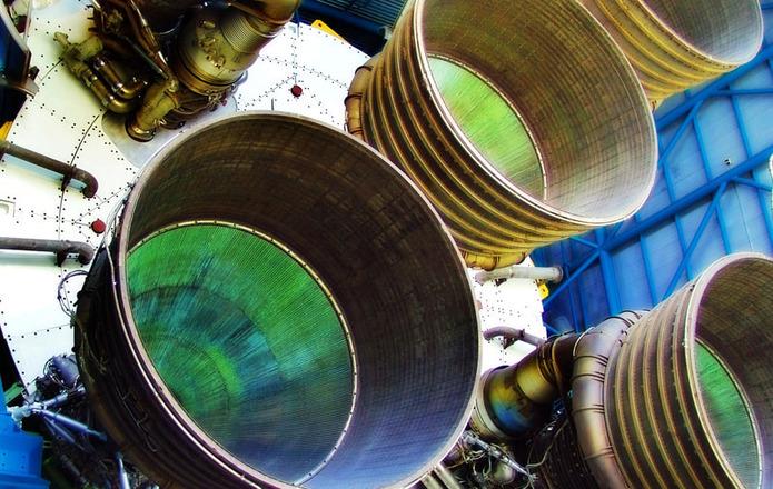 Free Rocket Engines 19 Stock Photo