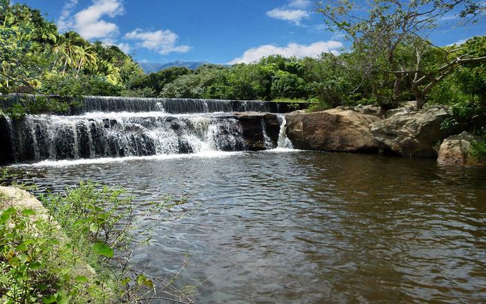 Waterfall at Ibiapaba's Mountain