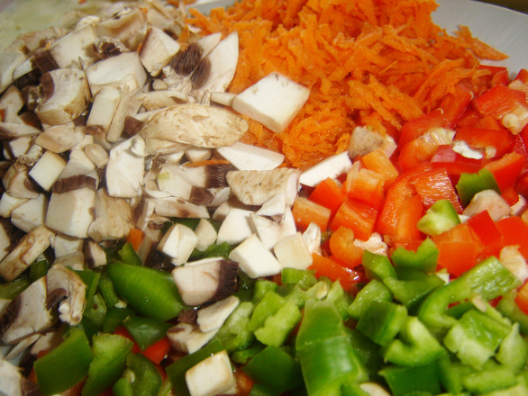 cooking fresh vegestables