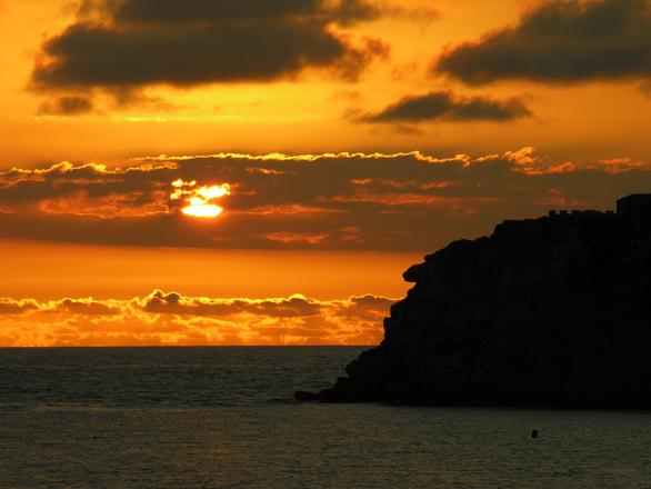 S. Martinho do Porto, Sunset i