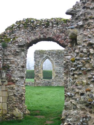 Leiston Abbey ruins 1