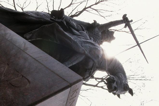 King Jagiello Statue, Central