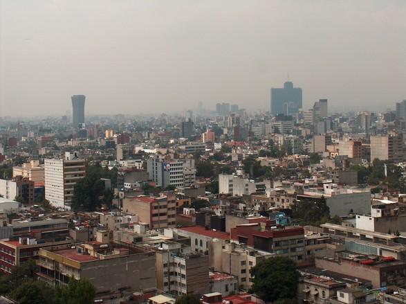 Mexico City skyline 4