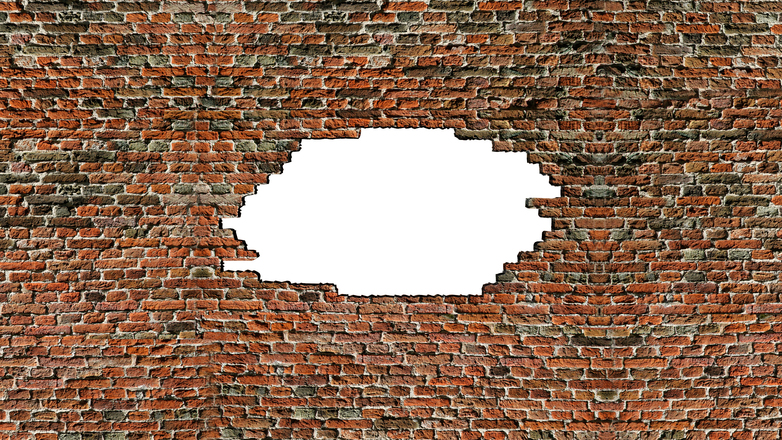 Brick Wall Hole 1 Free Photo 1201944