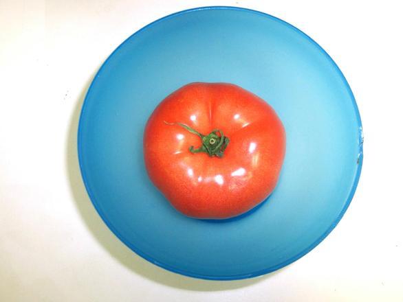 tomato in a bowl