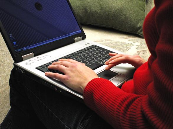 Laptop user 2