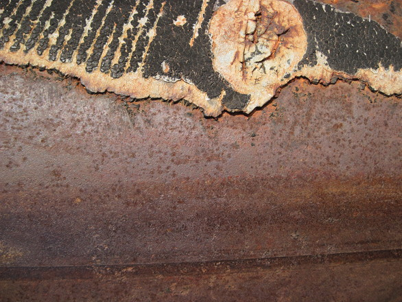 Rusty piling