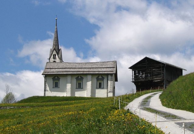 Spring at Siat Chapel
